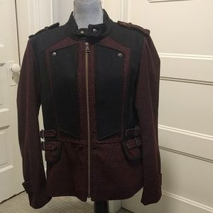 Like new Sam Edelman wool blend Moto jacket